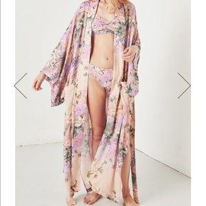 Spell Lily Kimono, shortened